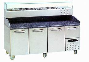 Pizza Preparation Counters from DT Saunders Ltd (image 1)