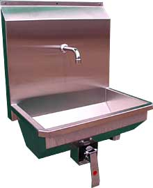 Hand Wash Troughs from DT Saunders Ltd (image 1)